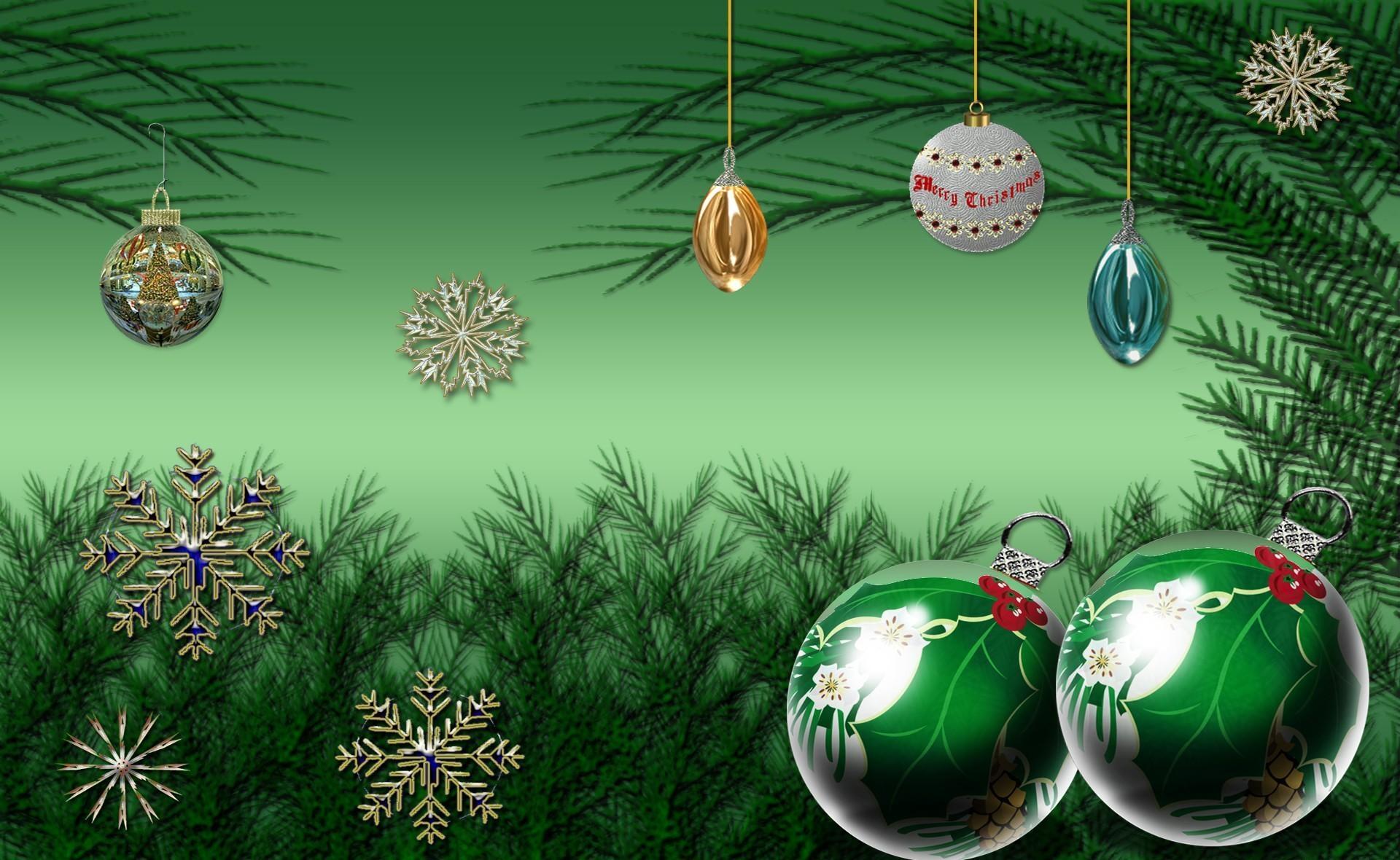 113678 скачать обои Снежинки, Праздники, Рождество, Новый Год, Праздник, Хвоя, Елочные Игрушки - заставки и картинки бесплатно