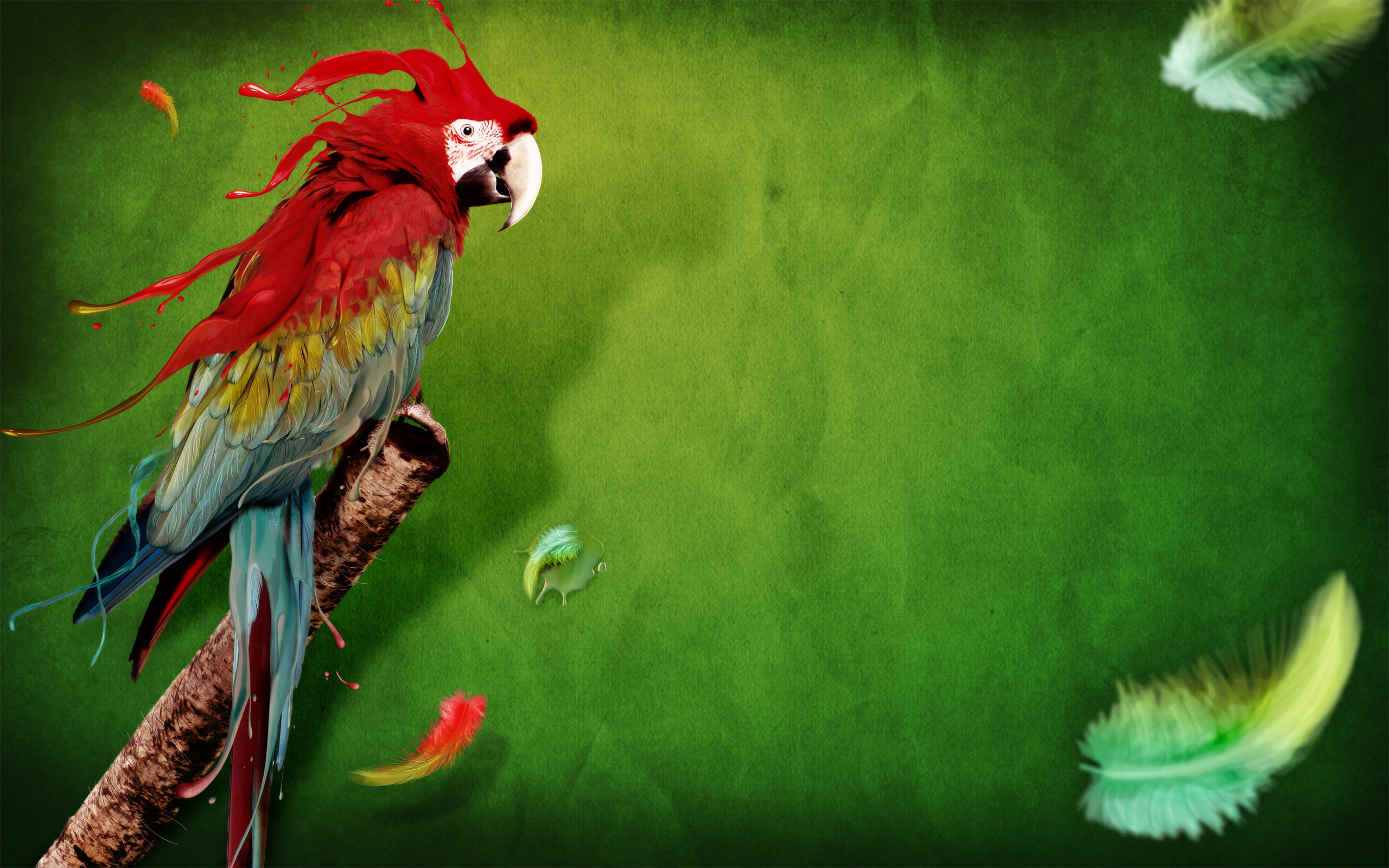 38066 download wallpaper Animals, Birds, Parrots, Art Photo screensavers and pictures for free