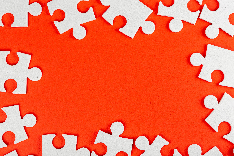 144969 скачать Оранжевые обои на телефон бесплатно, Разное, Белый, Оранжевый, Фрагменты, Пазлы Оранжевые картинки и заставки на мобильный
