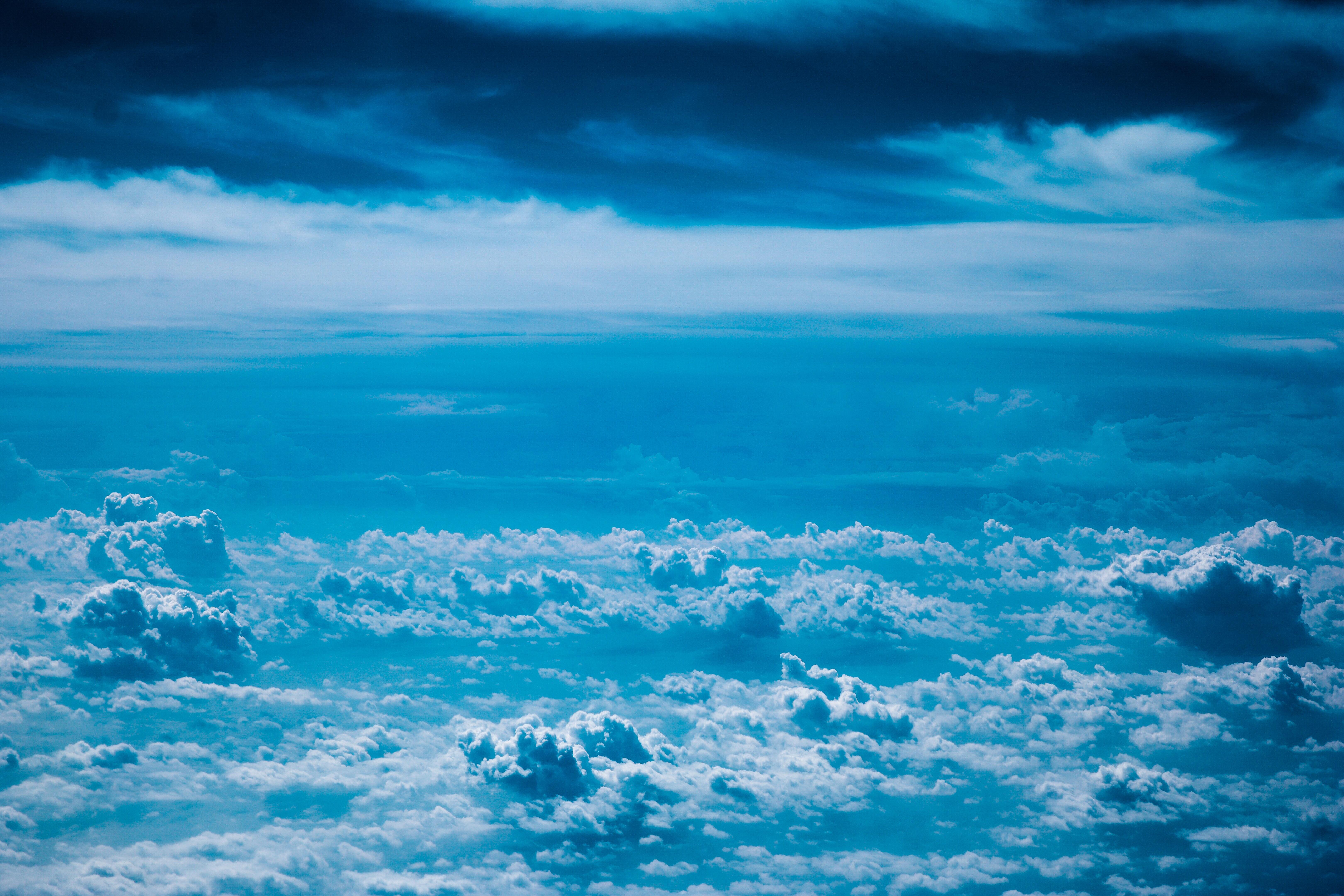 149313 Lade kostenlos Blau Hintergrundbilder für dein Handy herunter, Natur, Sky, Clouds Blau Bilder und Bildschirmschoner für dein Handy