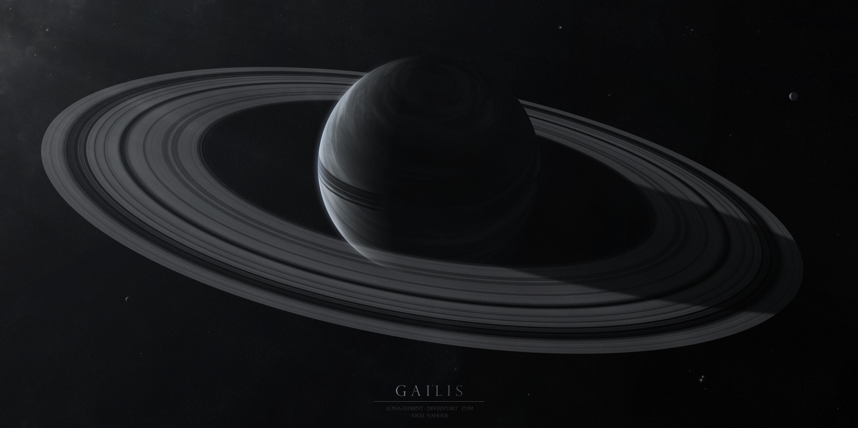 154117 Hintergrundbild herunterladen Sterne, Universum, Ringe, Platz, Raum, Planet, Planeten, Gailis - Bildschirmschoner und Bilder kostenlos