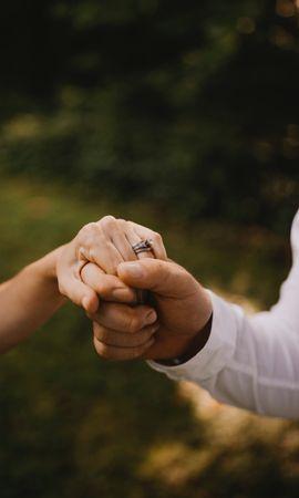 57912 Заставки и Обои Свадьба на телефон. Скачать Руки, Свадьба, Любовь, Прикосновение картинки бесплатно