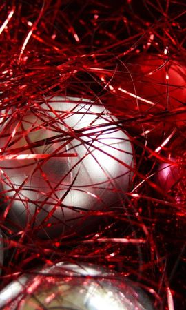 54303 descargar fondo de pantalla Vacaciones, Decoraciones De Navidad, Juguetes De Árbol De Navidad, Pelotas, Bolas, Oropel, De Cerca, Primer Plano: protectores de pantalla e imágenes gratis