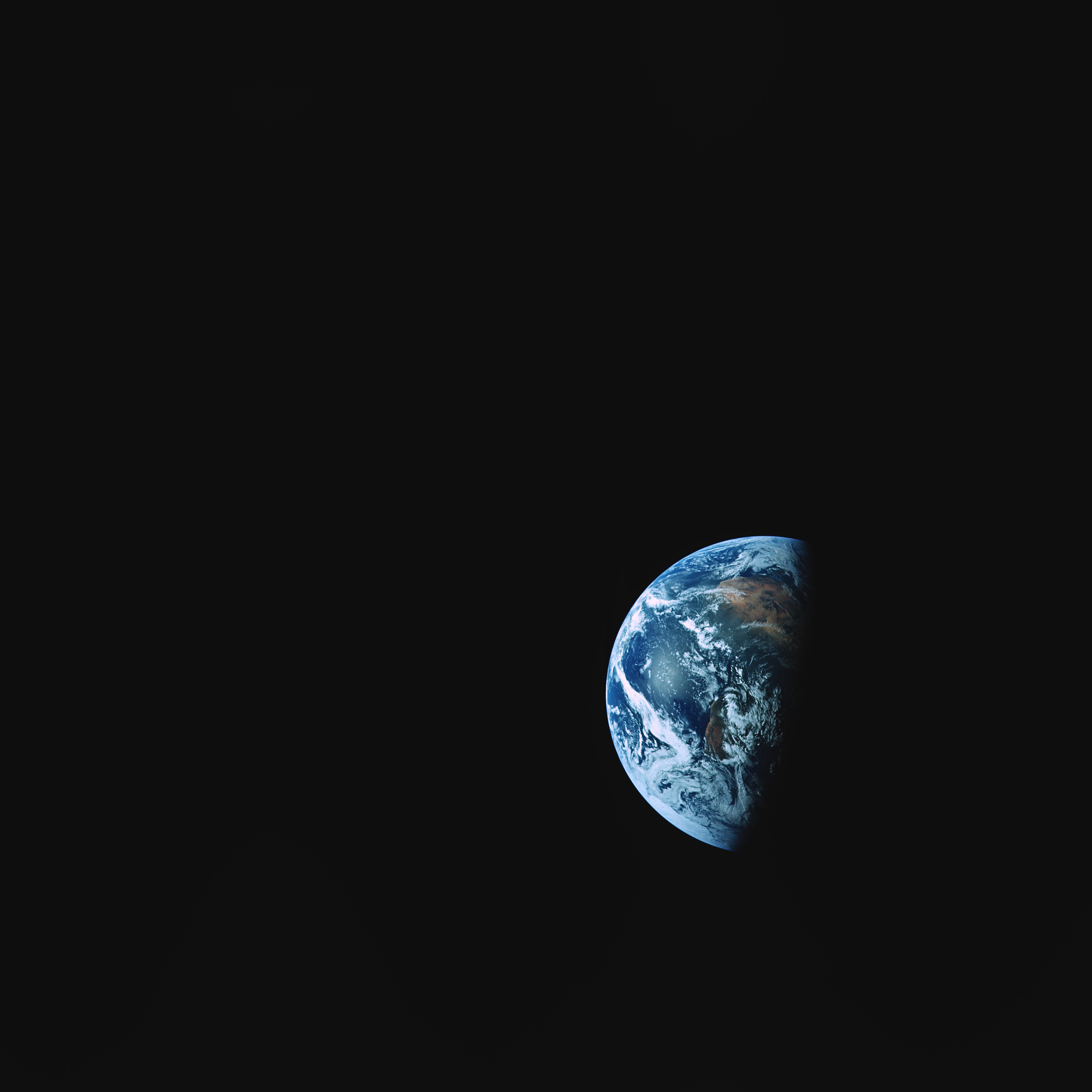108879 Hintergrundbild herunterladen Dunkel, Erde, Universum, Land, Schatten, Planet, Planeten - Bildschirmschoner und Bilder kostenlos