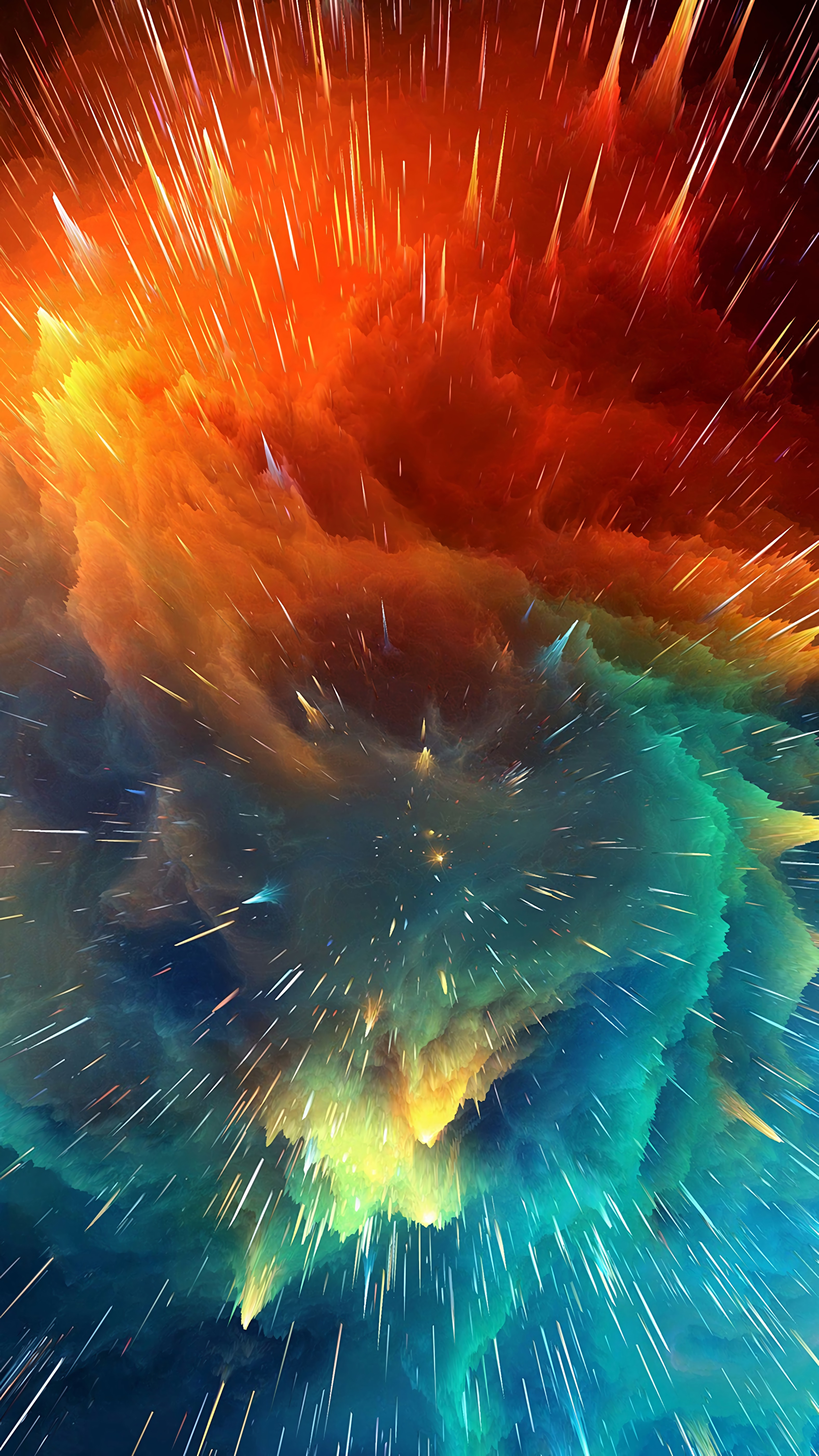 119333 Screensavers and Wallpapers Form for phone. Download 3D, Lines, Bright, Form, Forms, Volume, Cosmic Explosion, Space Explosion pictures for free