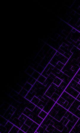 91538 baixar papel de parede Abstrato, Padrão, Geométrico, Linhas, Roxo, Violeta, Escuro - protetores de tela e imagens gratuitamente
