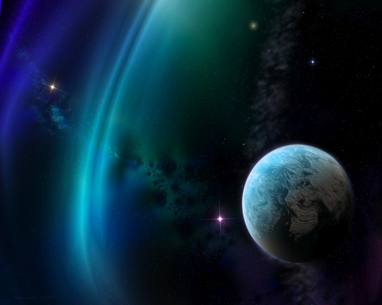 1314 download wallpaper Landscape, Art, Planets, Universe screensavers and pictures for free