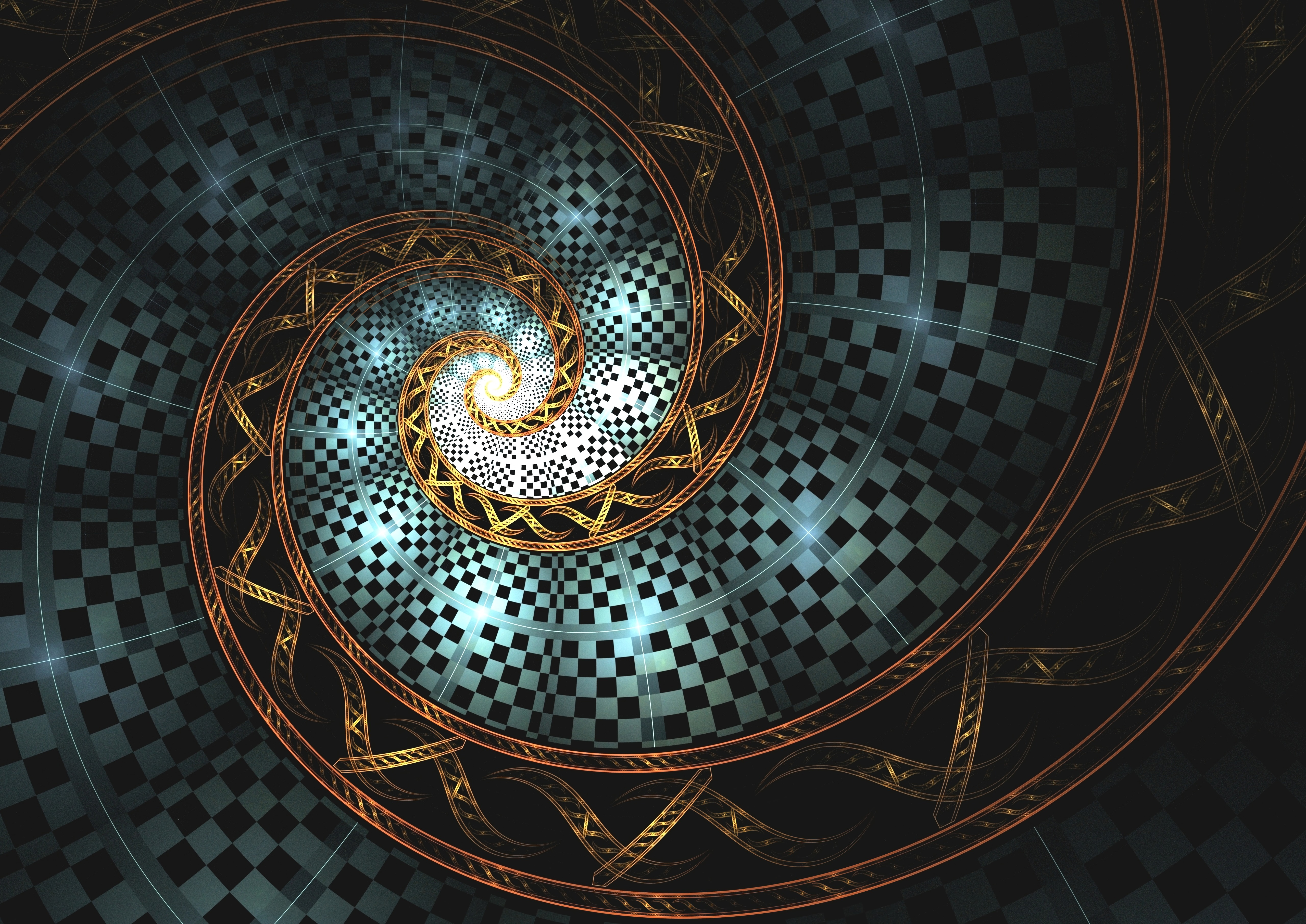 60227 Screensavers and Wallpapers Swirling for phone. Download Abstract, Fractal, Glow, Spiral, Swirling, Involute pictures for free