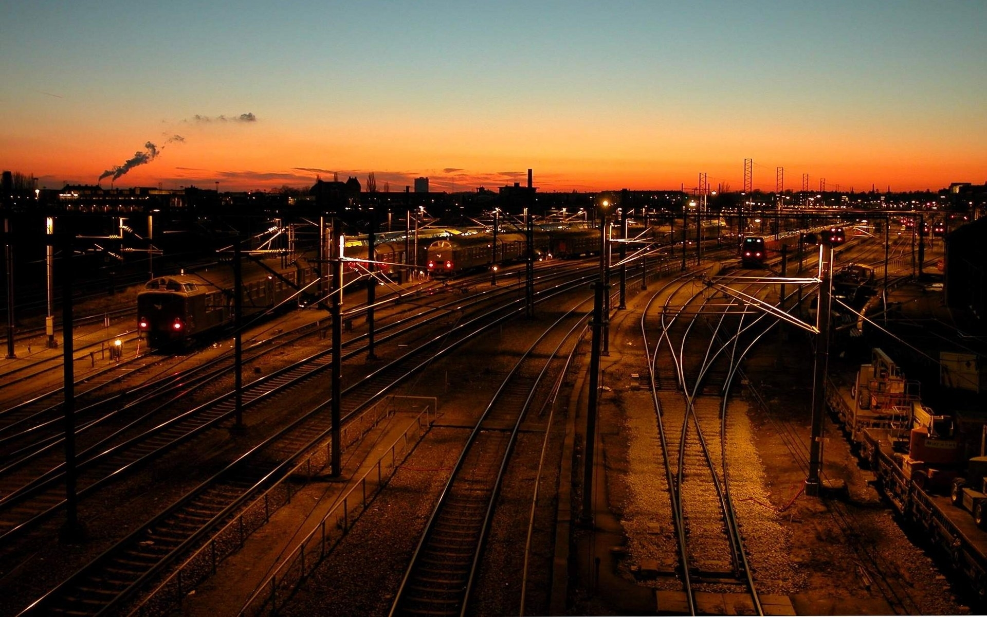 46200壁紙のダウンロード風景, 列車-スクリーンセーバーと写真を無料で
