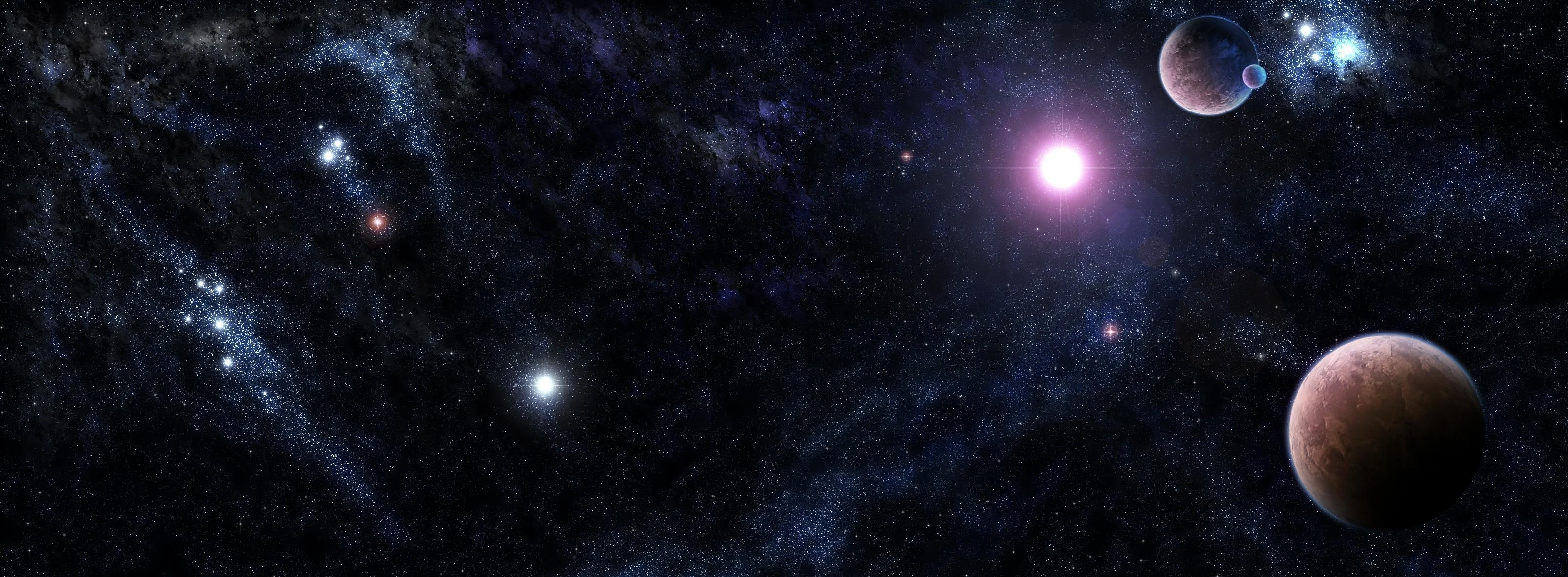 95130 download wallpaper Galaxy, Universe, Shine, Light, Stars, Planets screensavers and pictures for free