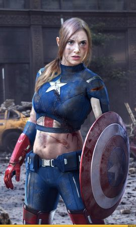 19492 download wallpaper Cinema, People, Girls, Captain America screensavers and pictures for free