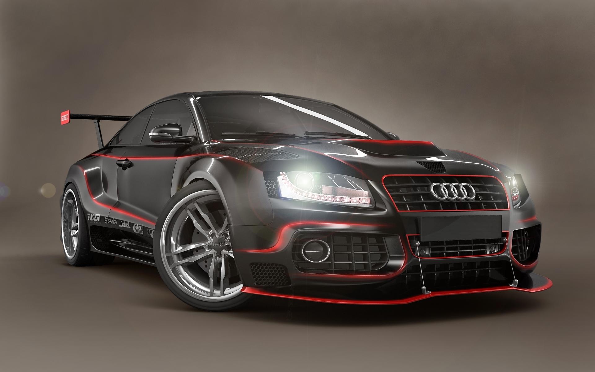 24189 скачать обои Транспорт, Машины, Тюнинг, Ауди (Audi) - заставки и картинки бесплатно