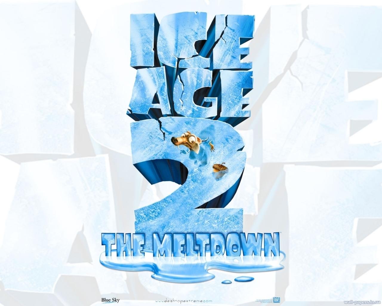 872 Hintergrundbild herunterladen Cartoon, Eiszeit, Meltdown - Bildschirmschoner und Bilder kostenlos