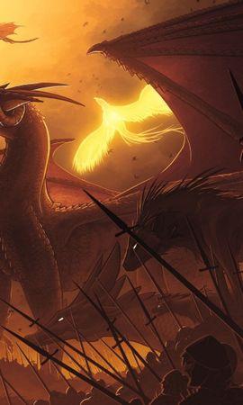 23779 скачать обои Фэнтези, Драконы - заставки и картинки бесплатно