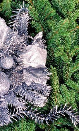 2291 descargar fondo de pantalla Vacaciones, Fondo, Aguja, Año Nuevo, Abetos, Navidad: protectores de pantalla e imágenes gratis