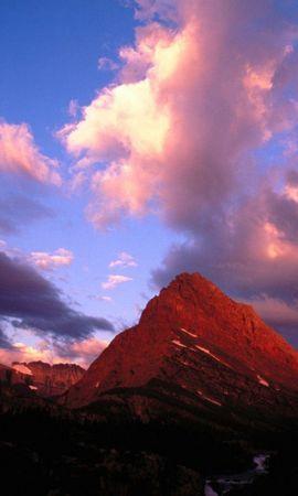 27033 скачать обои Пейзаж, Небо, Горы, Облака - заставки и картинки бесплатно