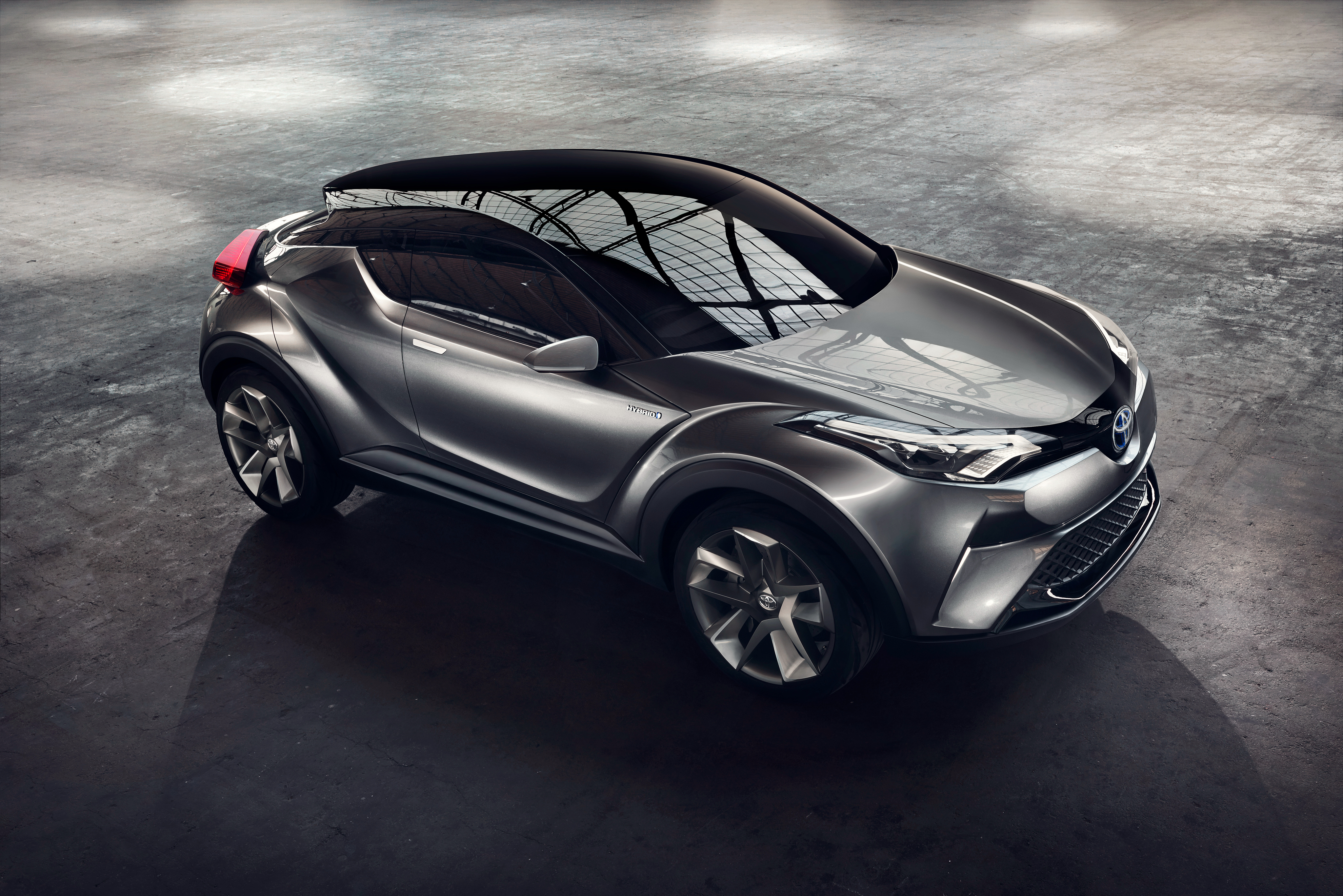 56231 download wallpaper Toyota, Cars, Grey, Side View, C-Hr screensavers and pictures for free