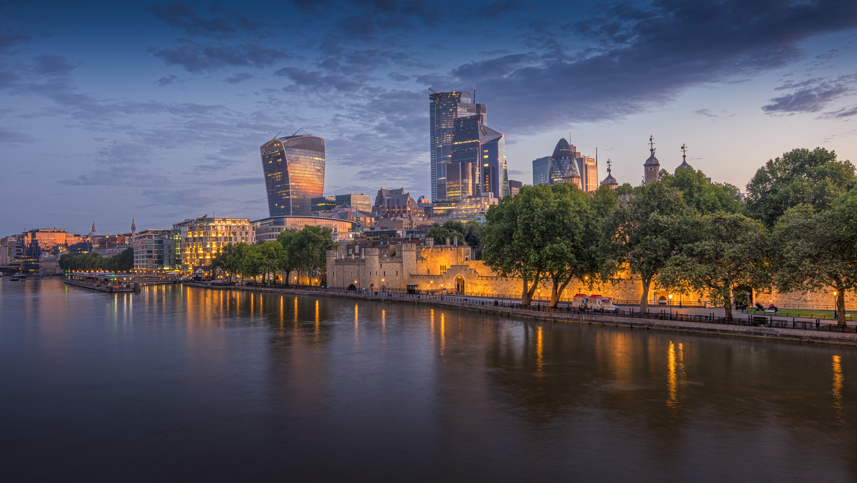 140622壁紙のダウンロード超高層ビル, 建物, 市, 都市, 川, アーキテクチャ-スクリーンセーバーと写真を無料で