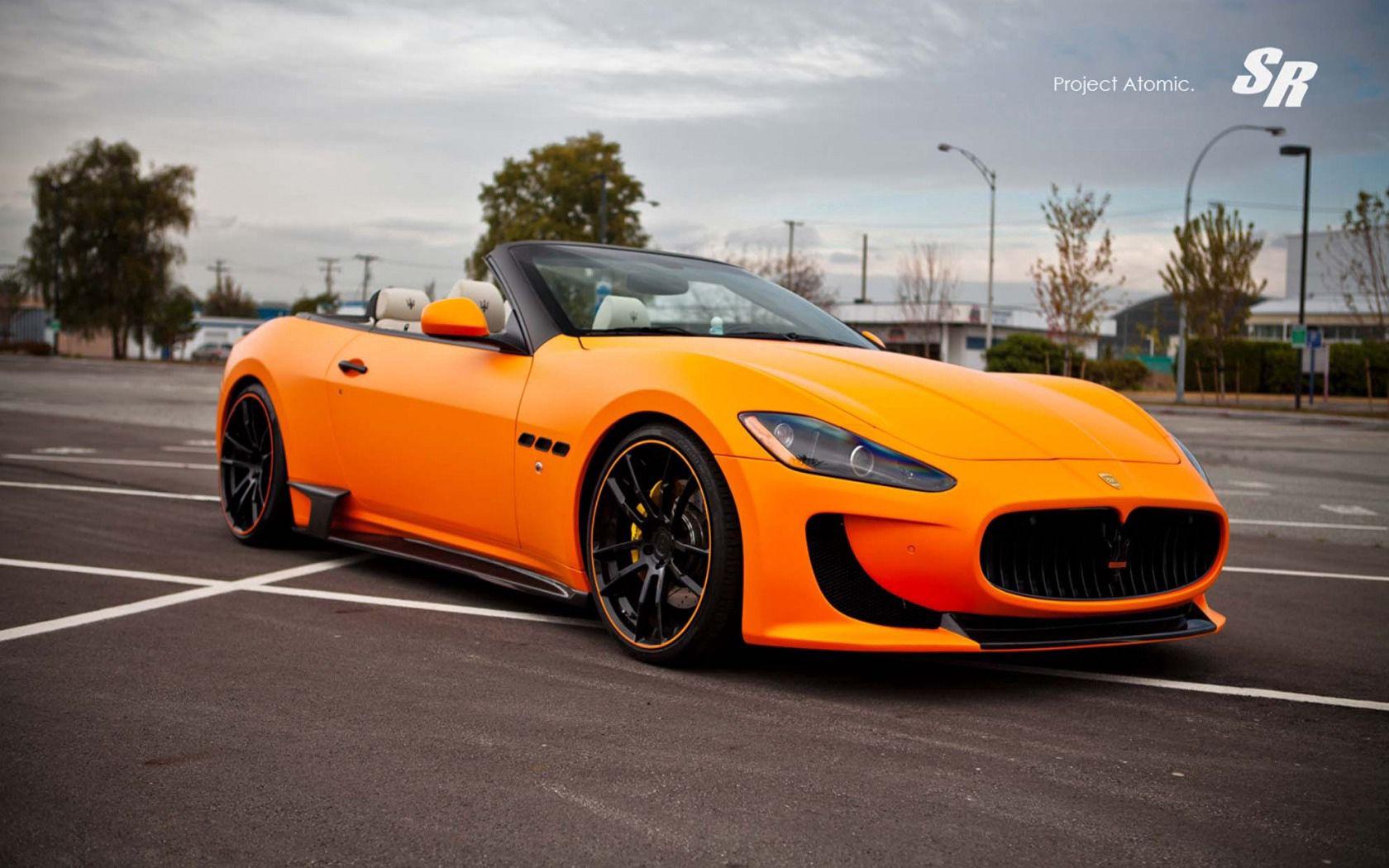 120222 Hintergrundbild herunterladen Maserati, Cars, Cabrio, Gran Turismo, Sr Autogruppe, Sr-Autogruppe, Atomar, Atomic - Bildschirmschoner und Bilder kostenlos