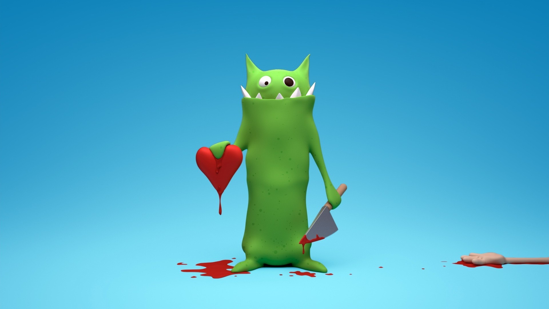 12302 download wallpaper Funny, Hearts, Love, Valentine's Day, Blood screensavers and pictures for free