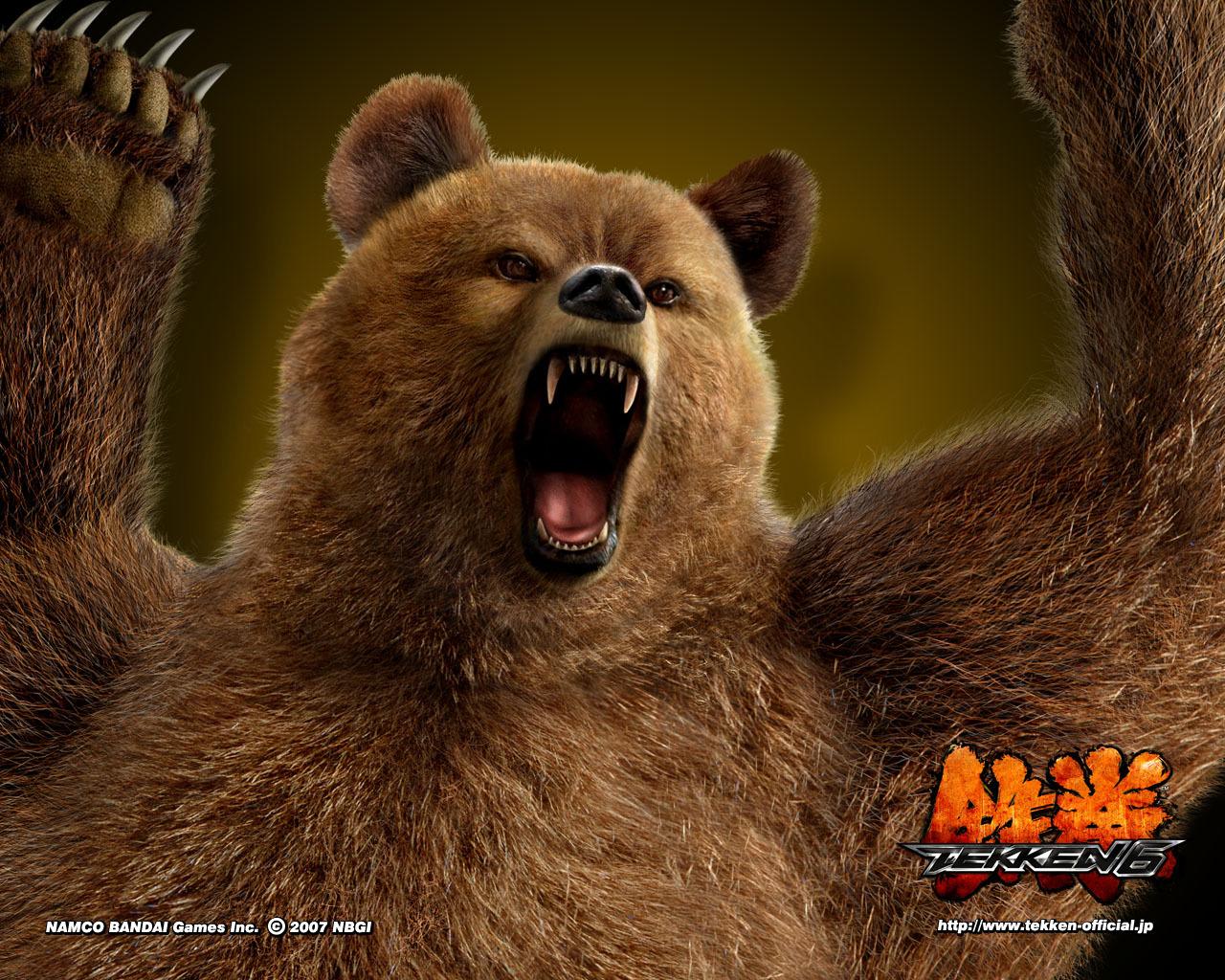 2150 скачать обои Игры, Медведи, Tekken - заставки и картинки бесплатно