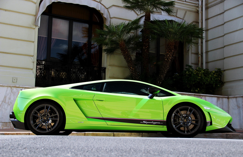 97335 免費下載壁紙 汽车, 建造, 建筑, 绿色的, 兰博基尼, 兰博吉尼, 棕榈 屏保和圖片