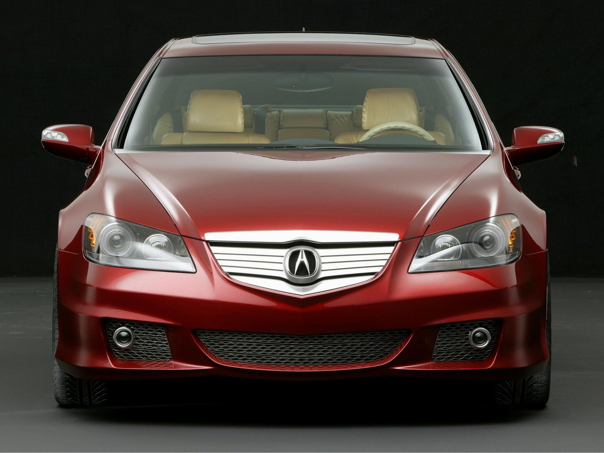 93710 скачать обои Тачки (Cars), Акура (Acura), Rl, Concept, Красный, Вид Спереди, Стиль, Акура, Концепт Кар, Машины - заставки и картинки бесплатно