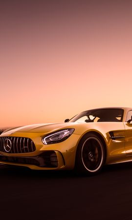106939 télécharger le fond d'écran Voitures, Mercedes-Benz Gt R, Mercedes, Une Voiture, Machine, Voiture De Sport, Sportif, La Vitesse, Vitesse - économiseurs d'écran et images gratuitement