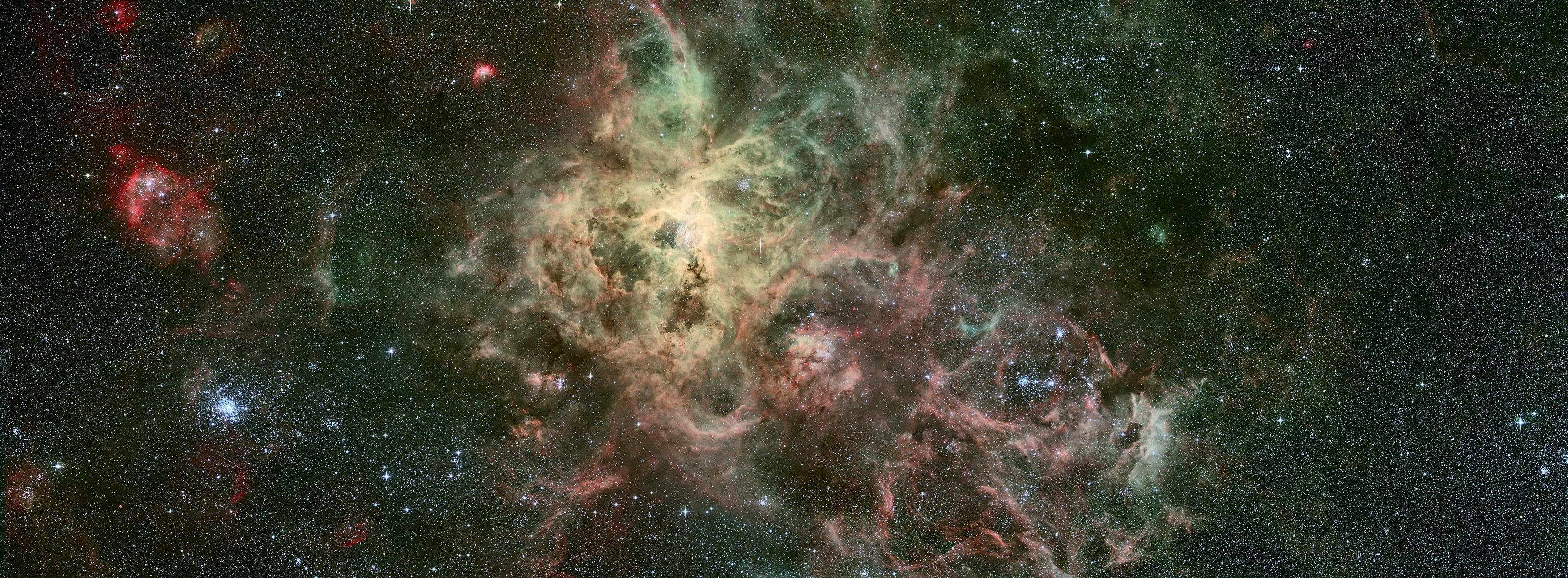 147461 download wallpaper Nebula, Galaxy, Universe, Stains, Spots, Outbreaks, Flash, Stars screensavers and pictures for free
