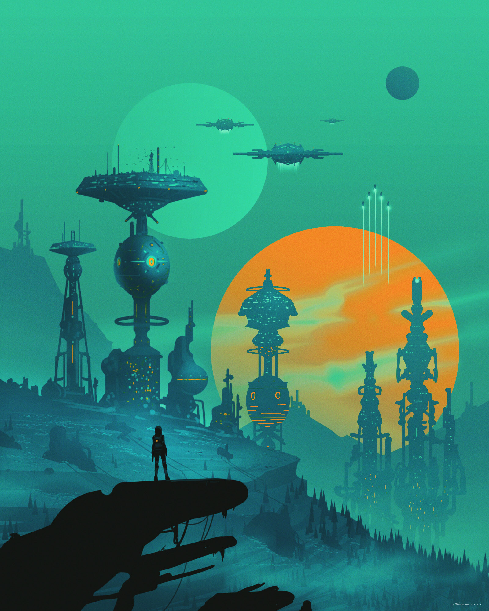65469 Screensavers and Wallpapers Sci-Fi for phone. Download Art, Sci-Fi, Cyborg, Future, Space Station pictures for free