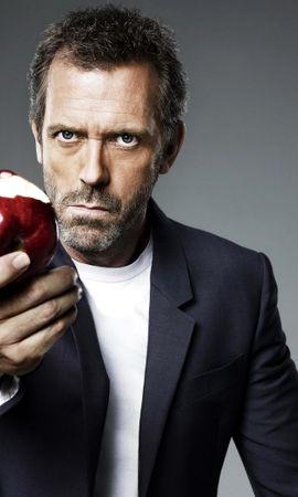 31658 télécharger le fond d'écran Cinéma, Personnes, Acteurs, Hommes, Dr House, Hugh Laurie - économiseurs d'écran et images gratuitement