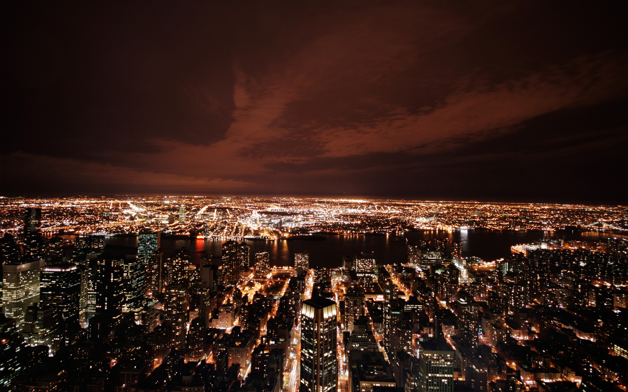 598 download wallpaper Landscape, Cities, Night screensavers and pictures for free