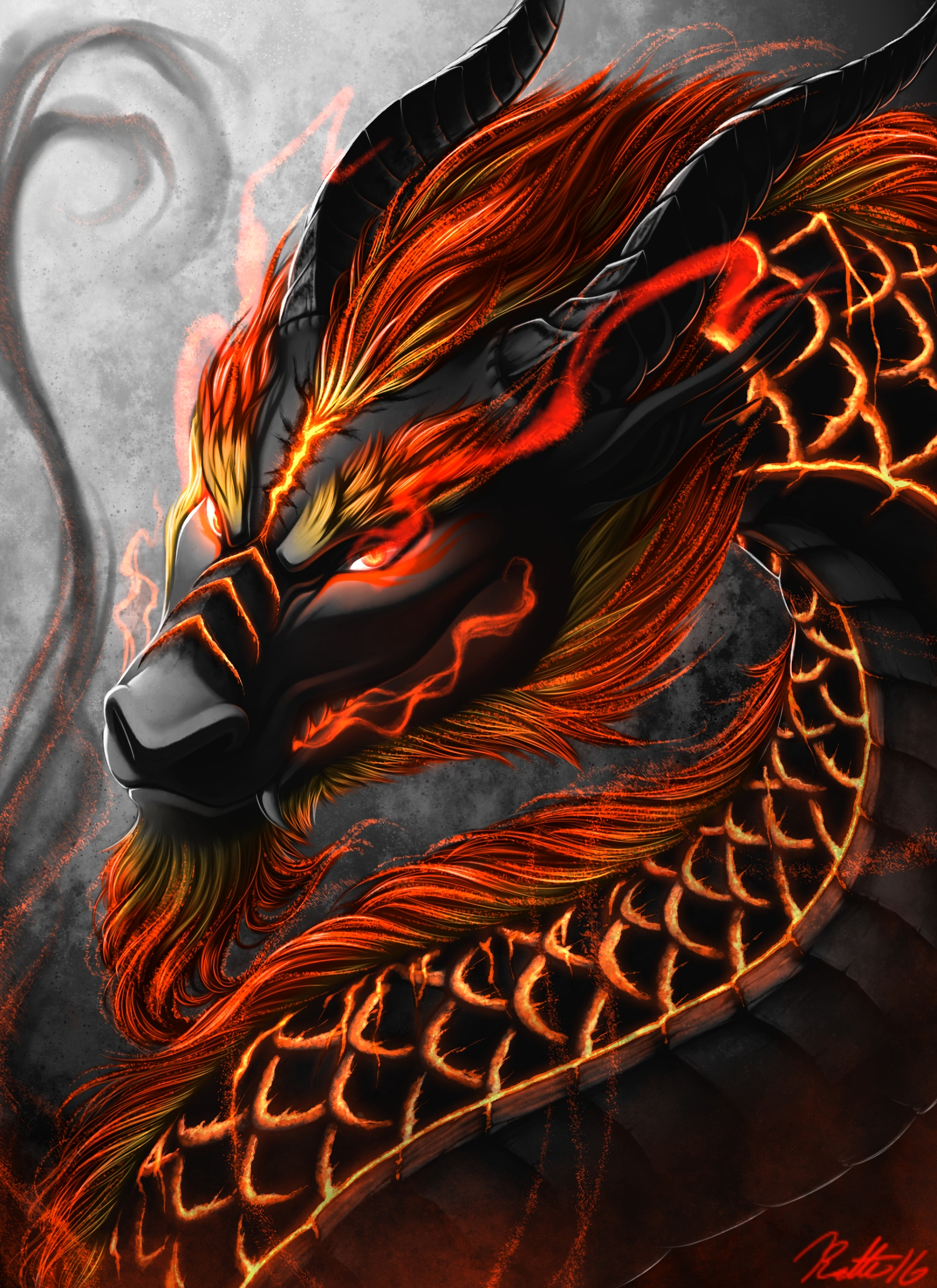 154971 Screensavers and Wallpapers Fiction for phone. Download Art, Snakes, Dragon, Being, Creature, Fiction, That's Incredible pictures for free