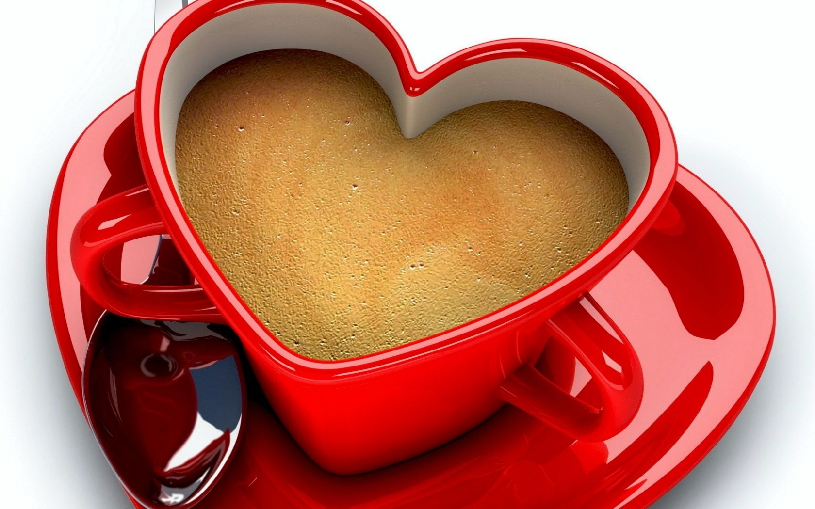 41897 download wallpaper Hearts, Objects, Coffee screensavers and pictures for free