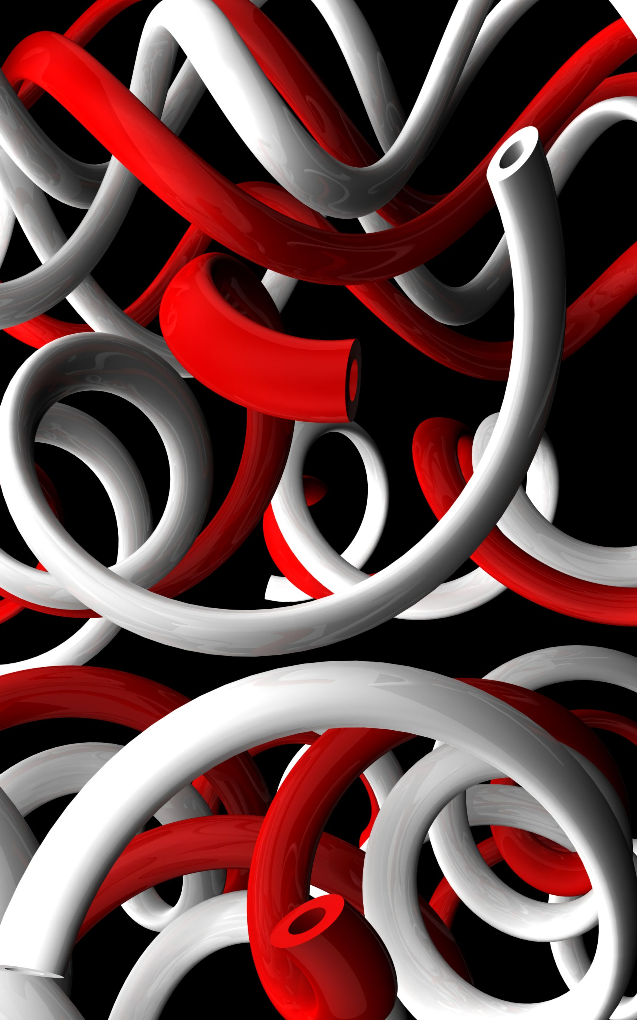 121761 Screensavers and Wallpapers Swirling for phone. Download 3D, Form, Plexus, Forms, Swirling, Involute, Bent, Curved pictures for free