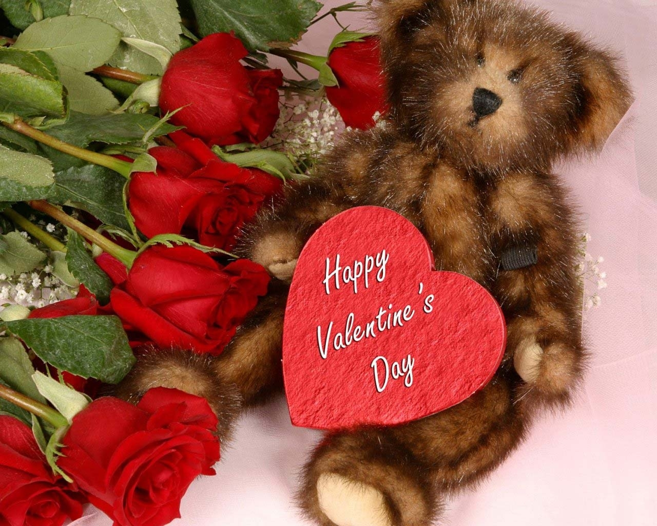 7233 download wallpaper Holidays, Hearts, Toys, Valentine's Day screensavers and pictures for free
