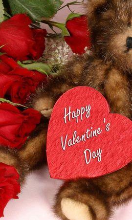 7233 descargar fondo de pantalla Vacaciones, Corazones, Juguetes, Día De San Valentín: protectores de pantalla e imágenes gratis