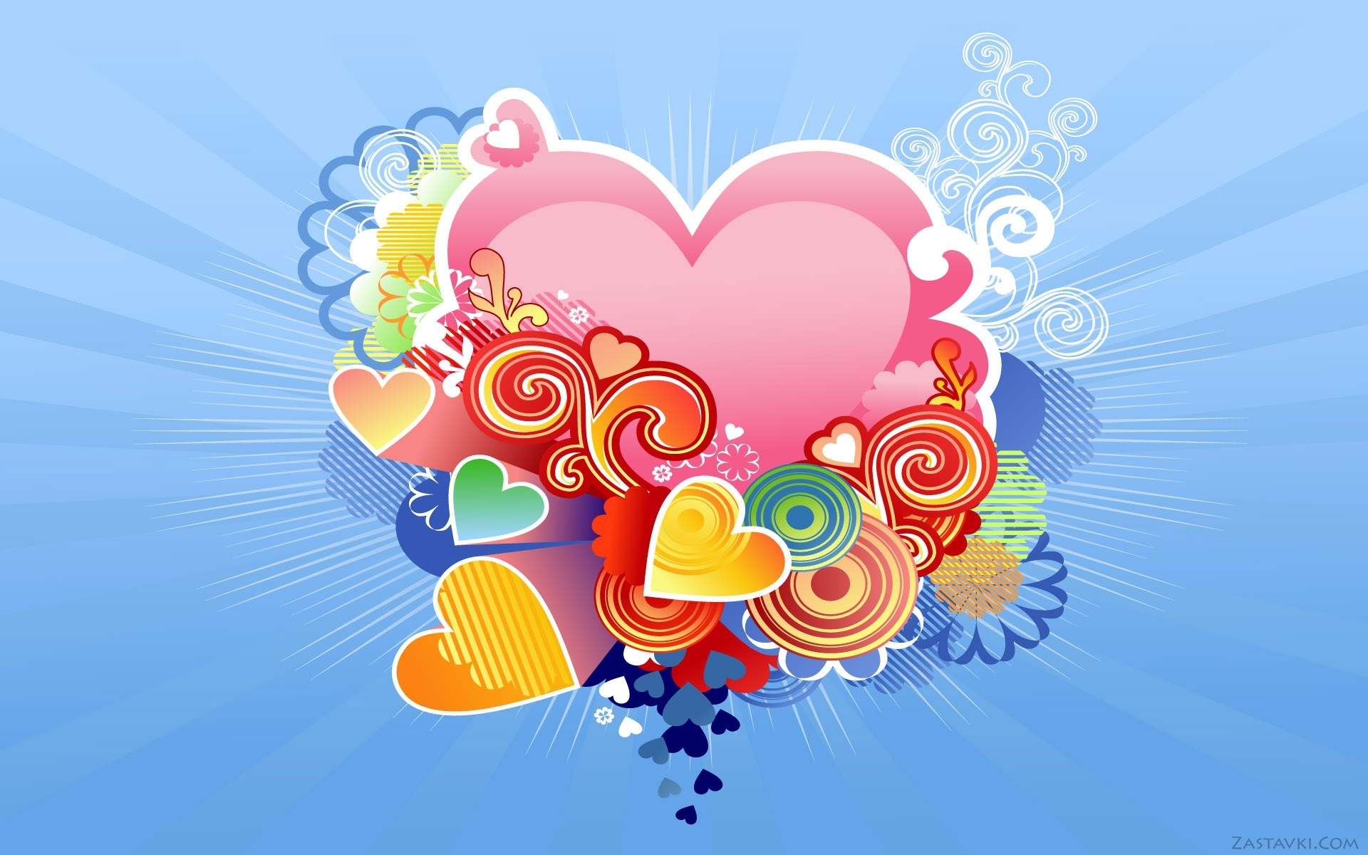 4172 download wallpaper Hearts, Love, Valentine's Day, Pictures screensavers and pictures for free
