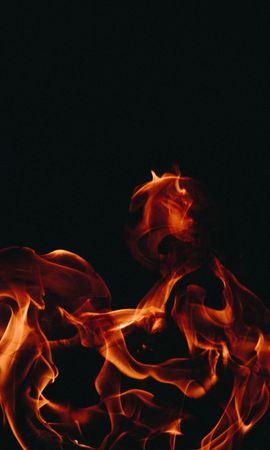 152445 завантажити шпалери Різне, Вогонь, Полум'я, Темний Фон, Темне Тло - заставки і картинки безкоштовно