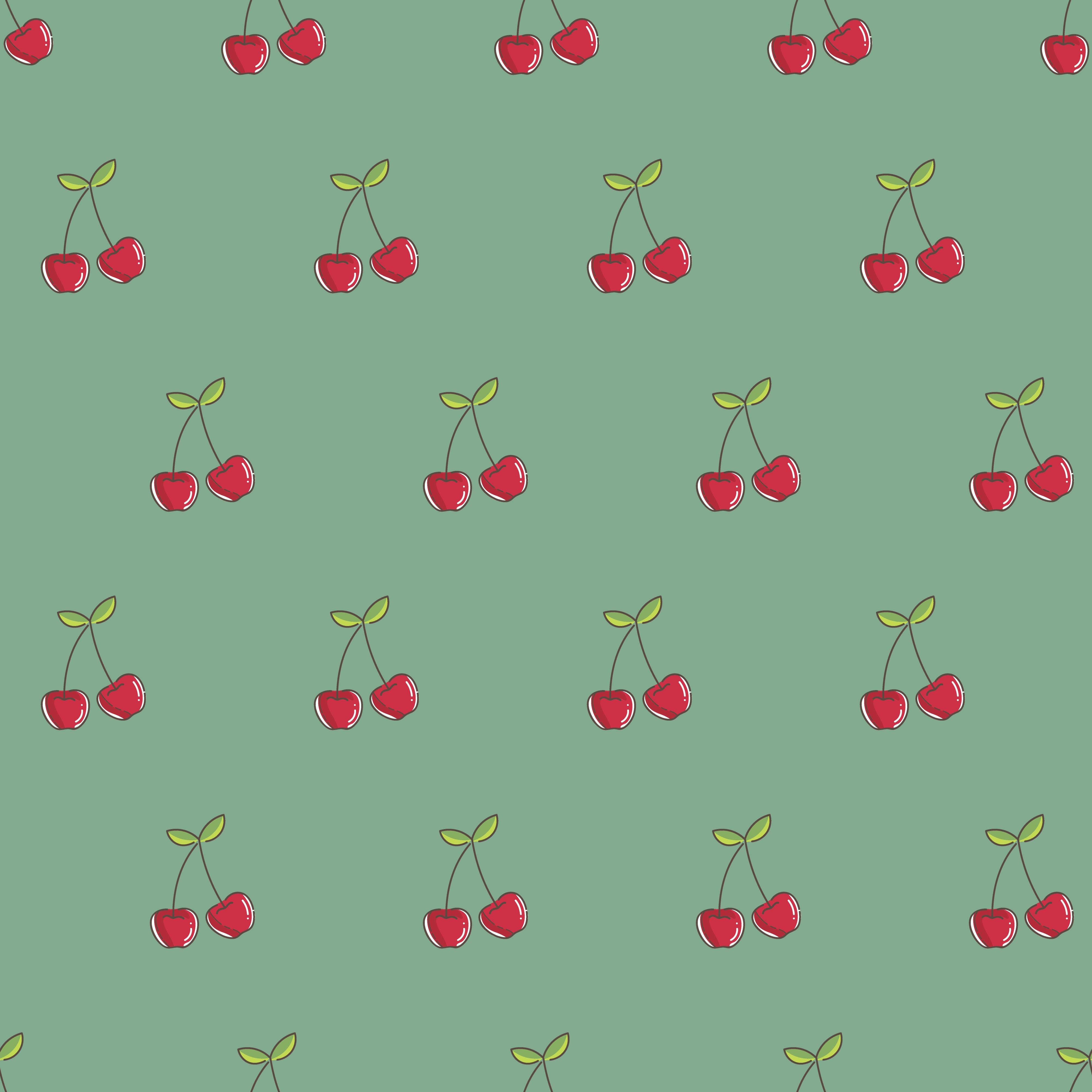 145041 Заставки и Обои Вишня на телефон. Скачать Вектор, Вишня, Ягоды, Узоры, Текстура, Текстуры картинки бесплатно
