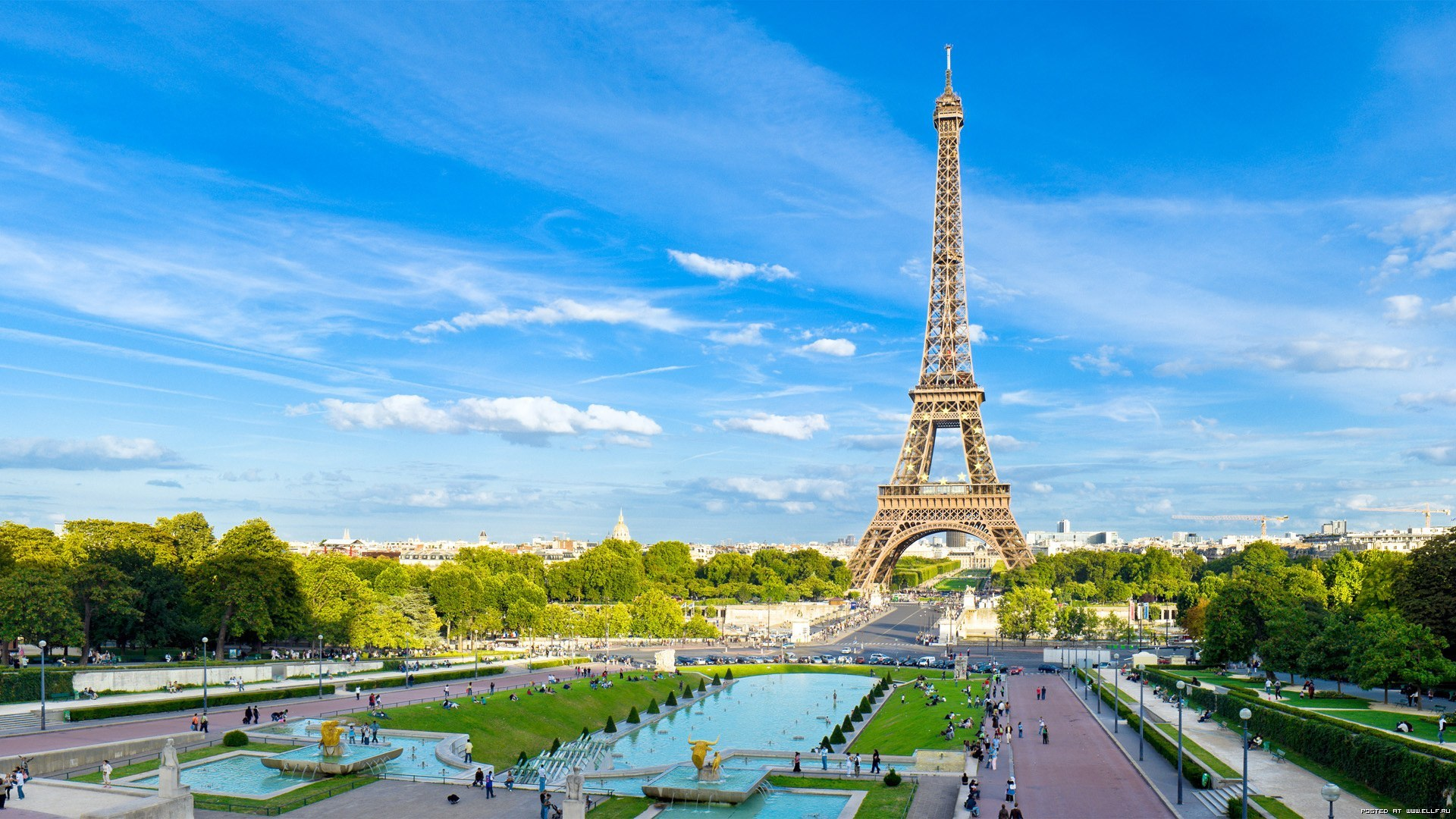 25013 Screensavers and Wallpapers Cities for phone. Download Architecture, Sky, Landscape, Cities, Paris, Eiffel Tower pictures for free