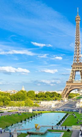 25013 Screensavers and Wallpapers Architecture for phone. Download Landscape, Cities, Sky, Architecture, Paris, Eiffel Tower pictures for free