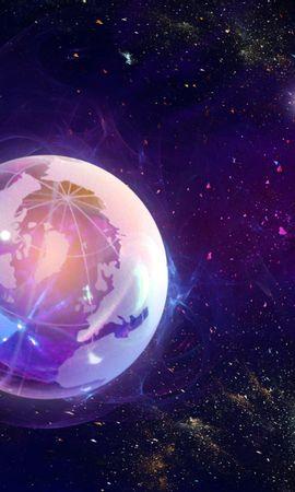4763 télécharger le fond d'écran Paysage, Planètes, Univers, Dessins - économiseurs d'écran et images gratuitement