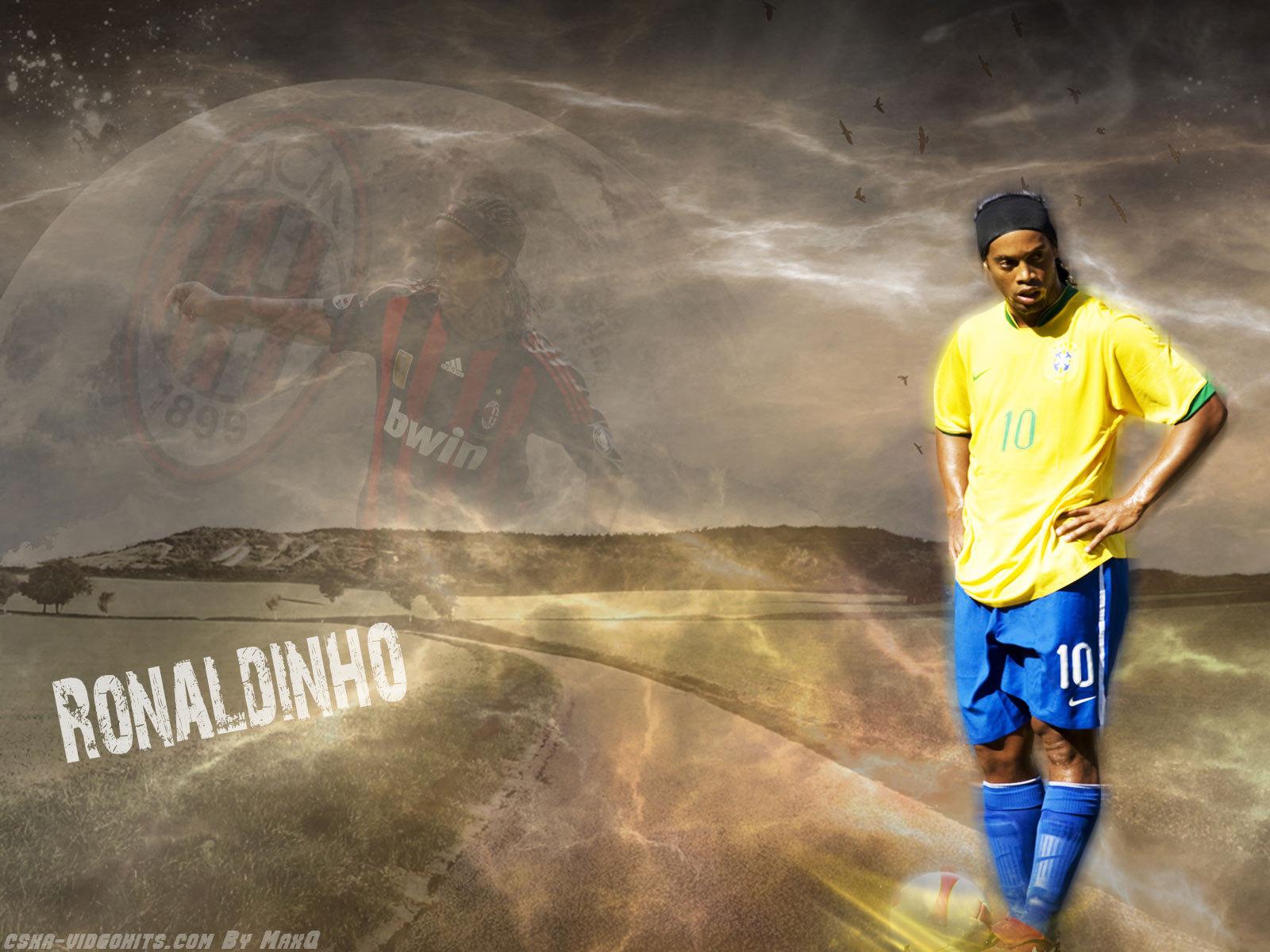 Images Ronaldinho populaires pour téléphone mobile