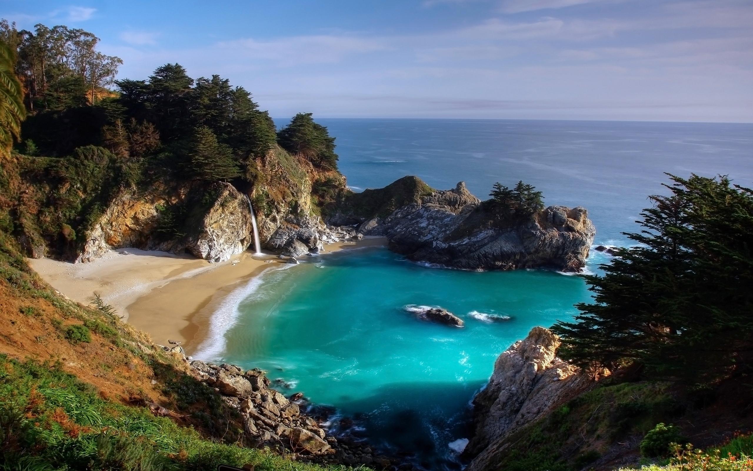 26290 免費下載壁紙 景观, 山, 海, 海滩 屏保和圖片