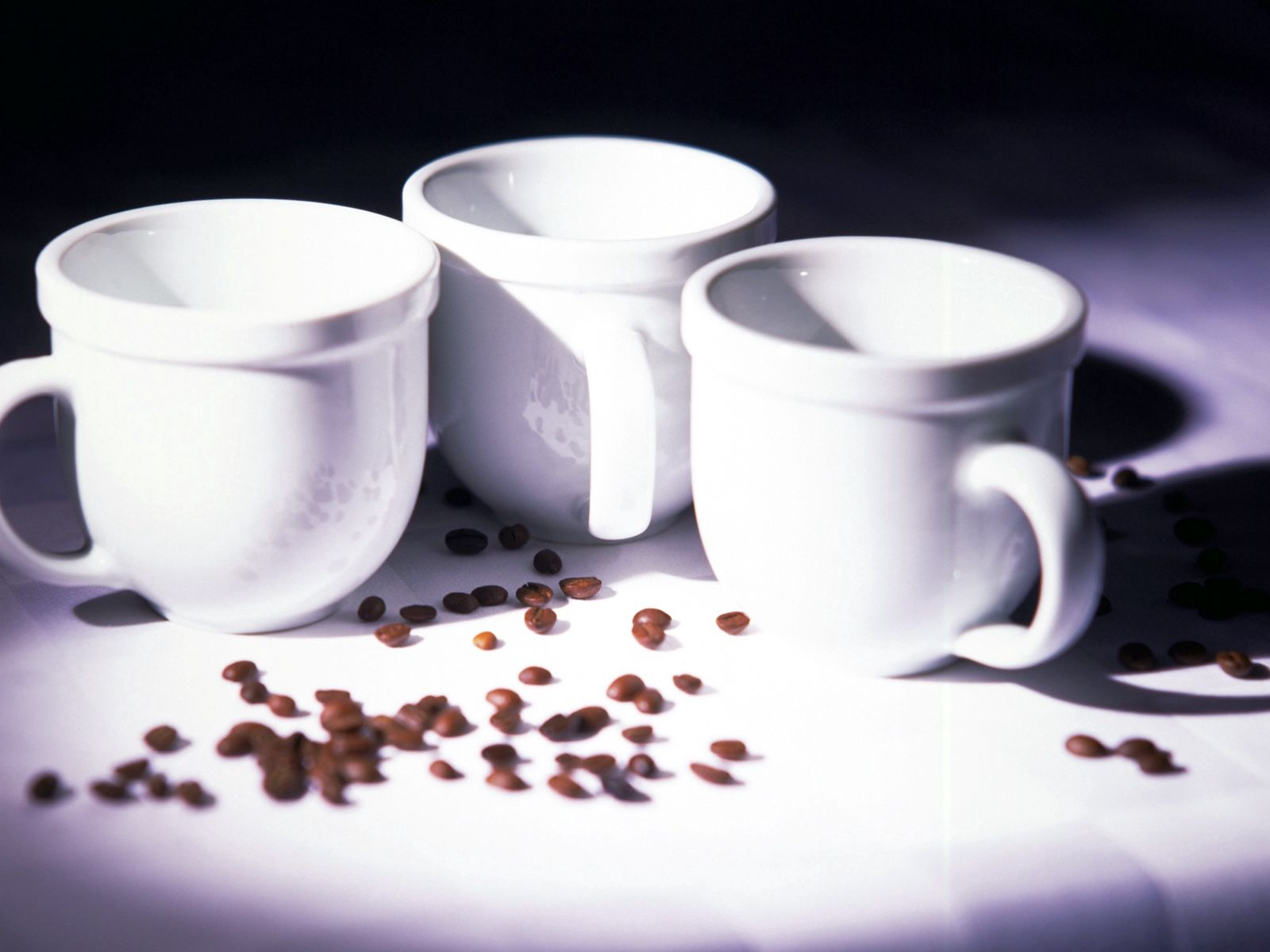 146849 download wallpaper Food, Cups, Coffee Beans screensavers and pictures for free