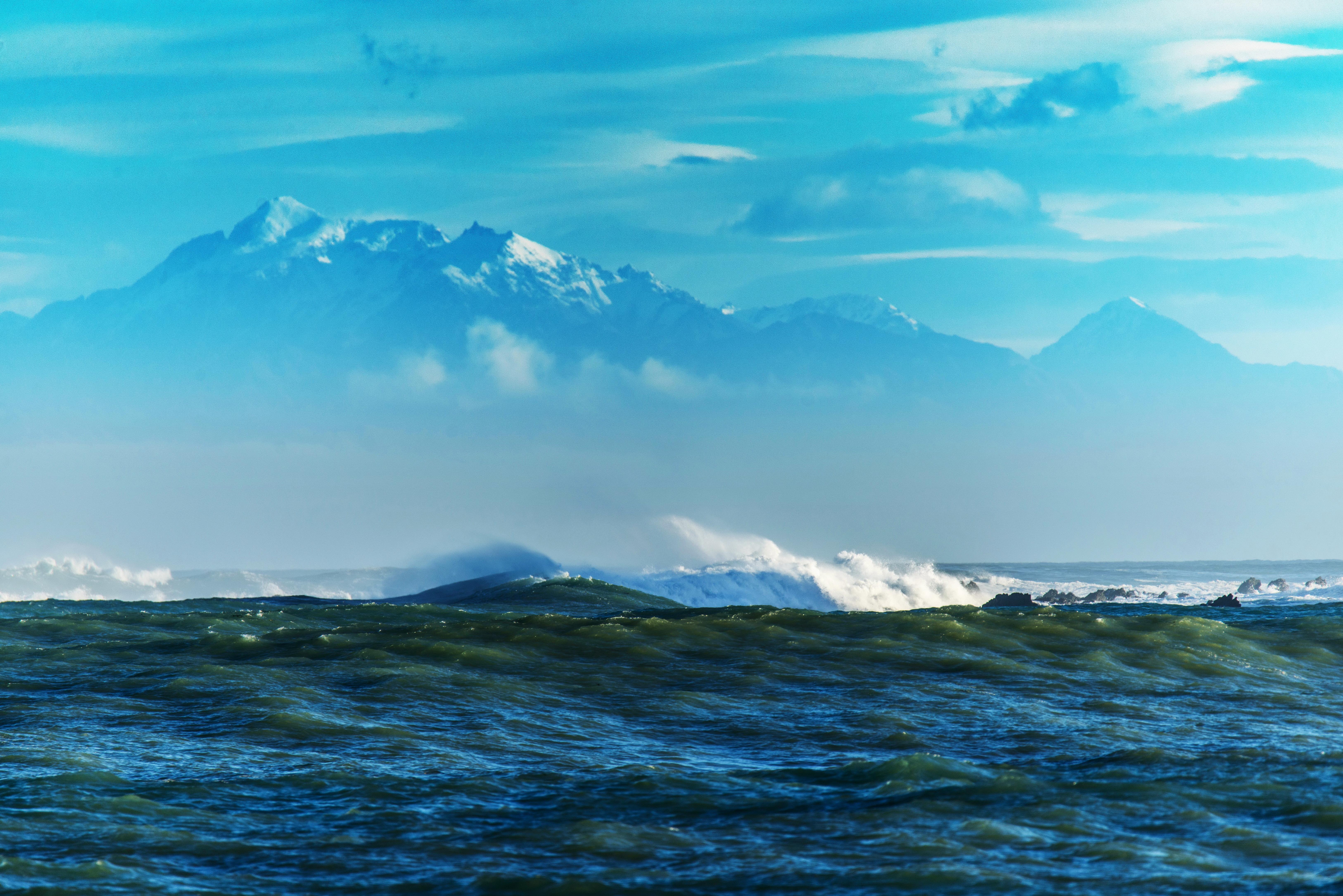 89659 télécharger le fond d'écran Nature, Mer, Noyaux, Récifs, Montagnes, Ondulations - économiseurs d'écran et images gratuitement