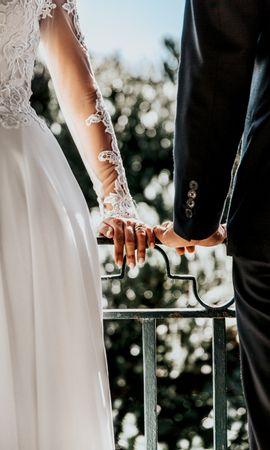131820 Заставки и Обои Свадьба на телефон. Скачать Праздники, Руки, Свадьба, Любовь, Жених, Невеста картинки бесплатно