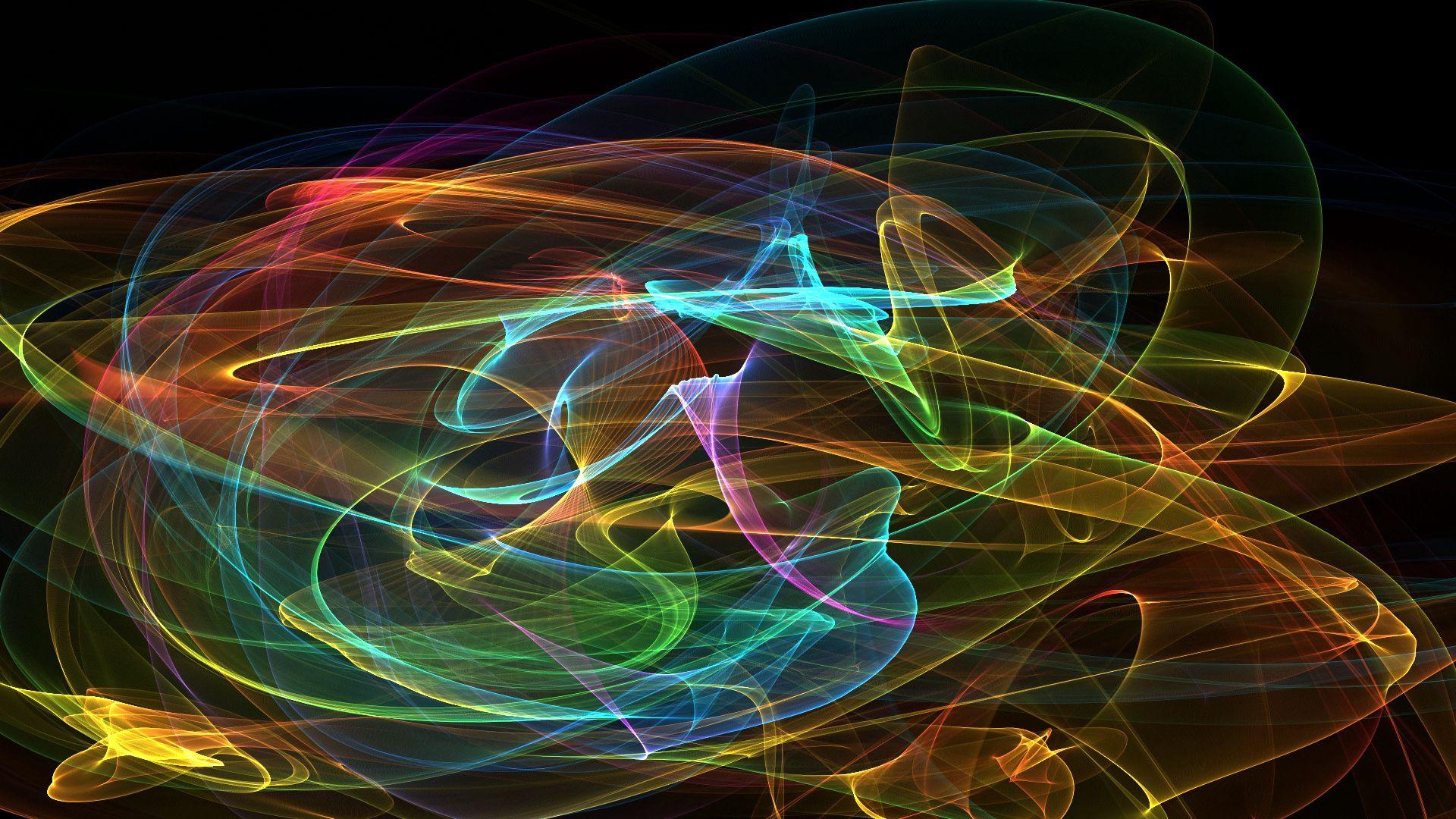 53976 скачать обои Разноцветный, Абстракция, Дым, Сетка - заставки и картинки бесплатно
