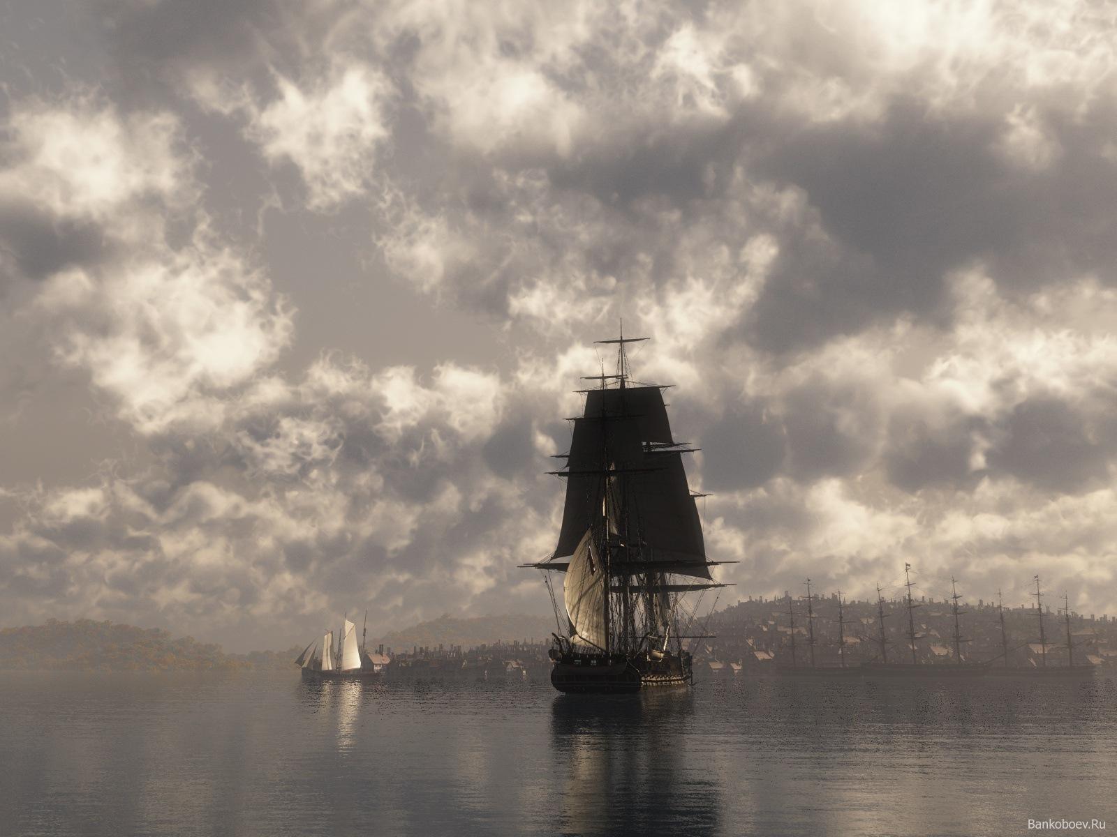 13607 скачать обои Транспорт, Корабли, Море - заставки и картинки бесплатно